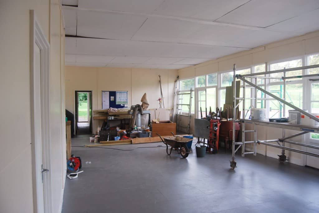 Men's Shed main workshop view 2